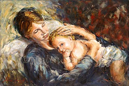 Mother_child_portrait_oil_painting_L