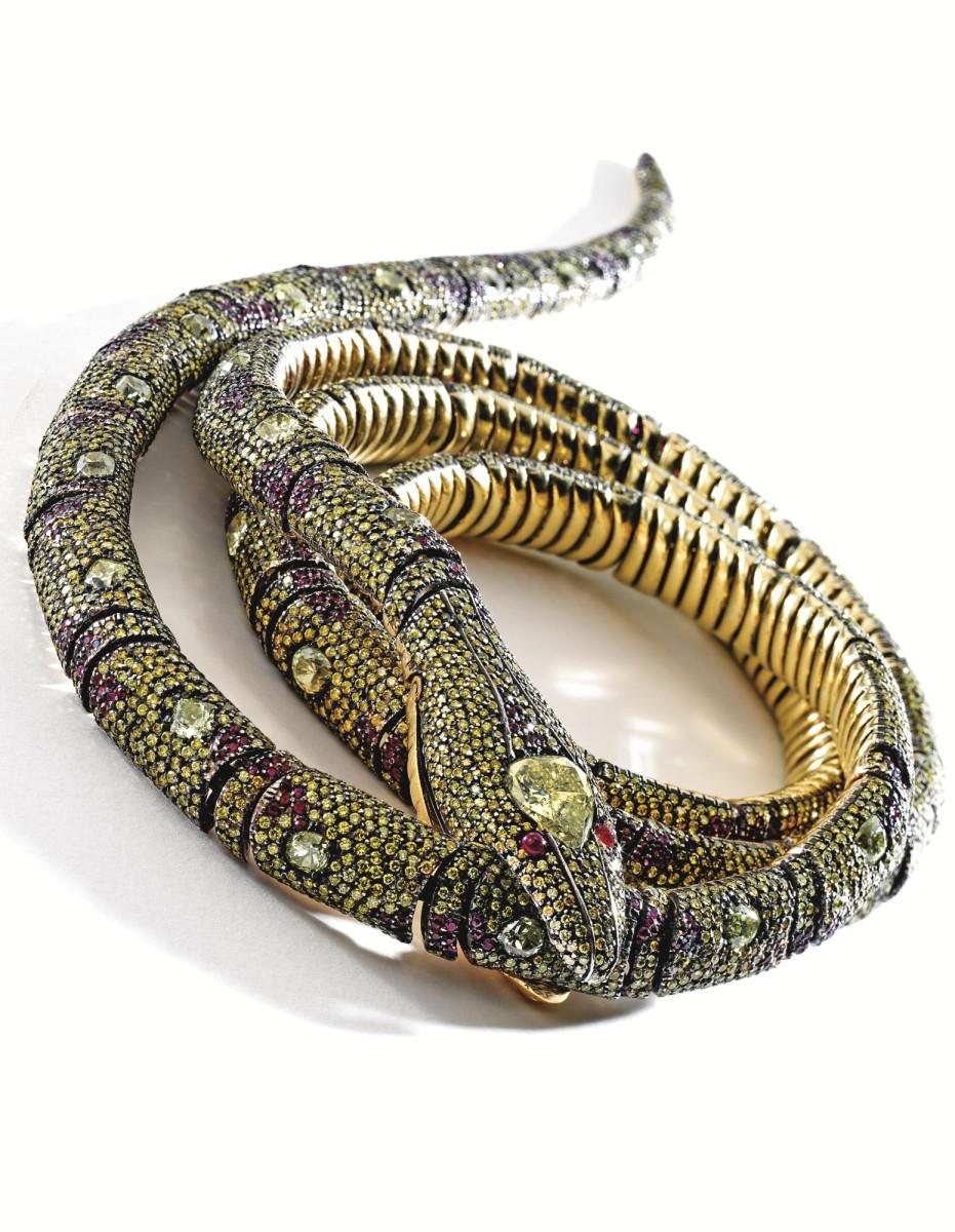 صورة الثعبان ذو الجوهرة