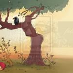 قصص تعليمية للاطفال – قصة الغراب و الثعلب المكار