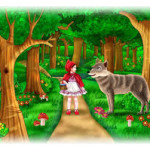 قصص للاطفال قبل النوم رائعة جدا – قصة ليلى و الذئب .