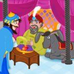 أجمل نوادر جحا والملك بها عبرة مضحكة ولكن مفيدة للأطفال والكبار