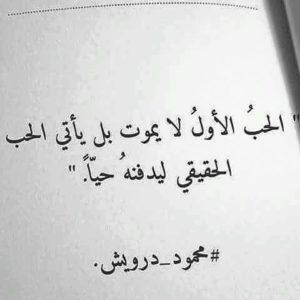 الحب الأول لا يموت