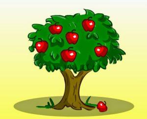شجرة التفاح الأنانية