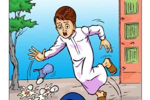 قصة سالم و قالب الحلوى قصة قصيرة هادفة للأطفال الصغار