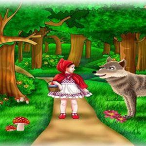 قصة ليلى والذئب او ذات الرداء الأحمر الشهيرة من اجمل قصص التراث للأطفال