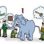 قصص للأطفال جديدة ورائعة قصة الفيل والاصدقاء الثلاثة