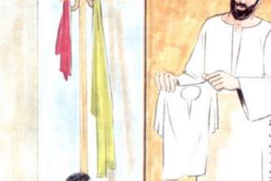 قصة الفجر جلباب ابيض قصة دينية قصيرة للأطفال من تأليف عبد الظاهر المطارقي