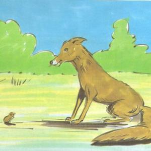 قصة الثعلب والنملة قصة قصيرة مترجمة من اعداد الكاتب : مجدي عبد الغني خليفة