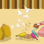 قصة قصيرة للأطفال جميلة ومفيدة بعنوان الطيور تعرف أمي من اعداد : عبد الجواد الحمزاوي