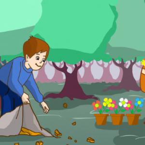 جائزة اجمل حي قصة مفيدة للأطفال عن الحفاظ علي البيئة بقلم : هدي المشالي