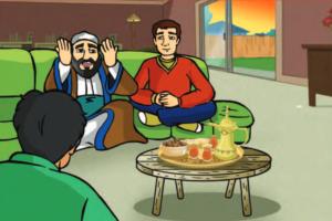 زبيدة أم الأمين قصة جميلة بعنوان حكاية أم من اعداد : خالد خلاوي