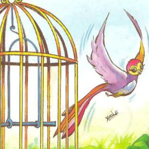 قصة مسلية للأطفال بعنوان القفص للكاتب عمر فتال