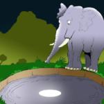 حكاية طريفة من حكايات كليلة ودمنة بعنوان الأرانب وملك الفيلة