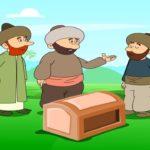 قصة قصيرة بعنوان سر الجوهرة عن جزاء البر بالوالدين