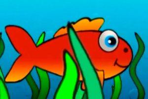 السمكة الذهبية والحوت الضخم قصة جميلة للأطفال عن الفرق بين القوة والذكاء
