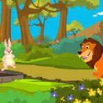 قصة الأسد والأرنب قصة اطفال جميلة