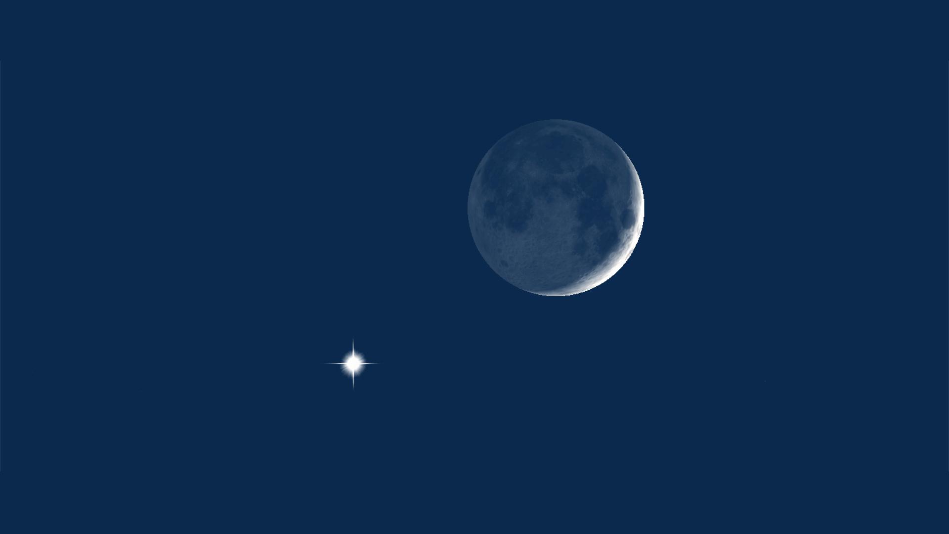 قصة خيالية قصيرة عن القمر للأطفال