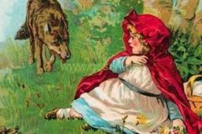 قصص عالمية للاطفال قصيرة قصة ذات الرداء الأحمر