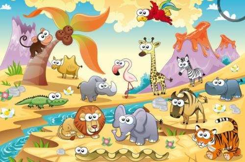 قصص للأطفال حديقة الحيوانات قصص جميلة قبل النوم
