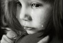 صورة بنت حزينة تبكي