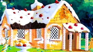 قصص عالمية بيت الحلوى
