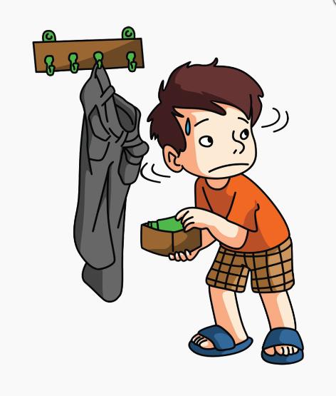 صورة طفل يسرق