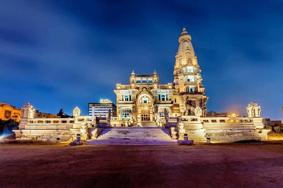 صورة خارجية لقصر البارون