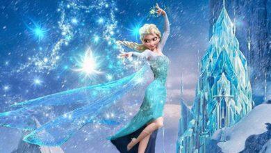 ملكة الثلج.