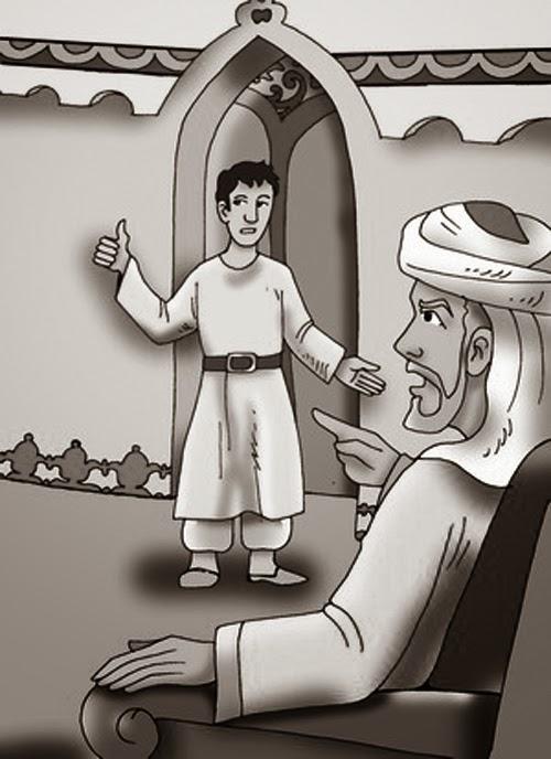 قصة الغلام من كتاب ألف ليلة وليلة