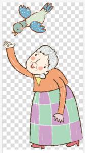 الخادمة العجوز وحارس الغابة