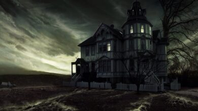 المنزل المسكون.