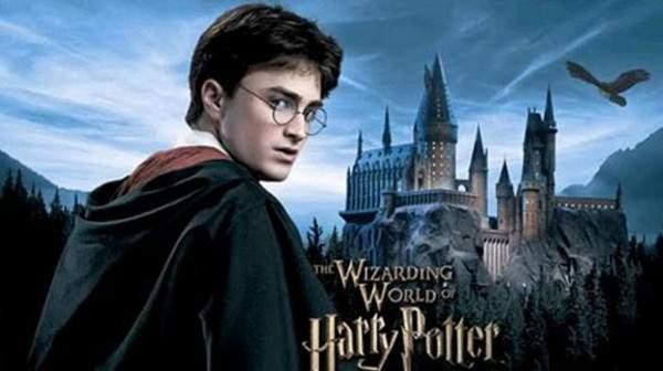 """سلسلة كتب """"هاري بوتر""""."""