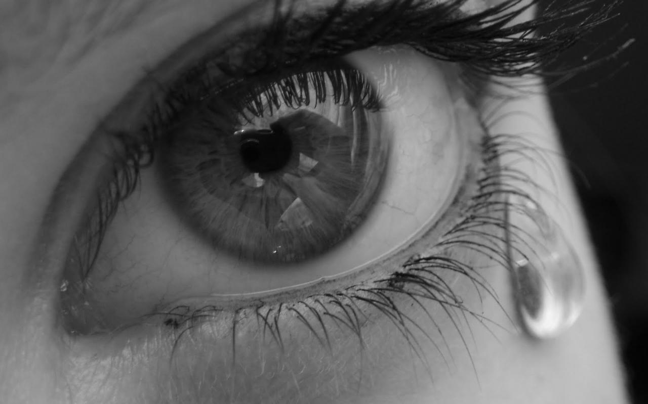 عين دامعة.