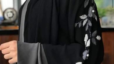 امرأة سعودية.