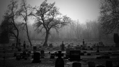 قصص رعب في المقابر