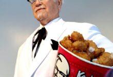 """""""هارلند دافيد ساندرز"""" صاحب دجاج كنتاكي."""