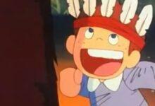 الصبي ذو الشعر الأحمر.