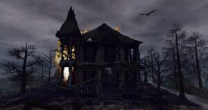 صورة بيت مرعب