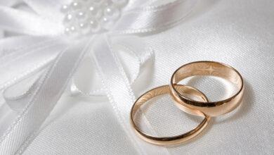 خاتمي زفاف.