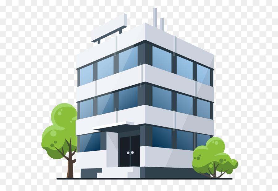 صورة لعمارة تتكون من ثلاث طوابق