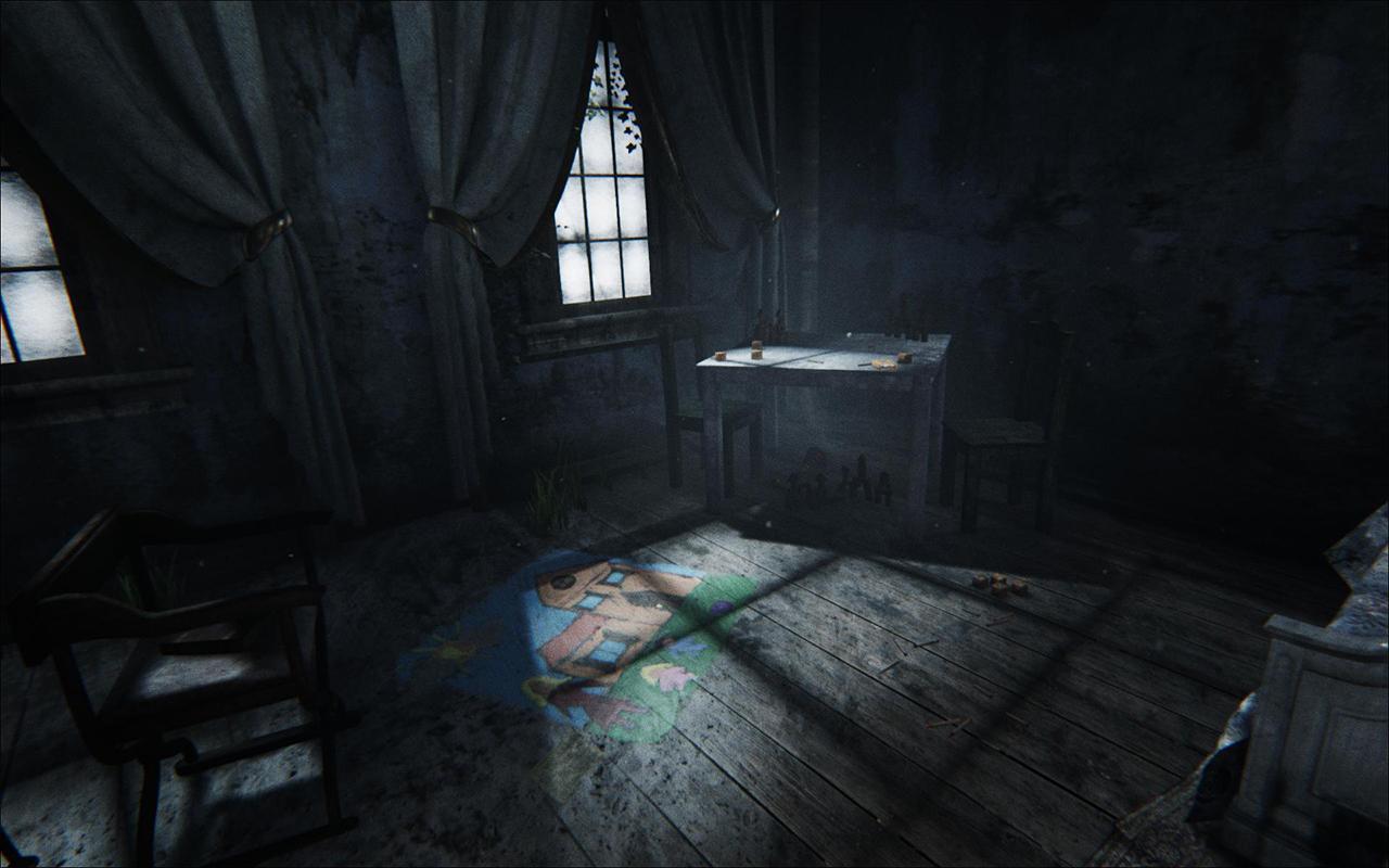 قصة الغرفة الغامضة
