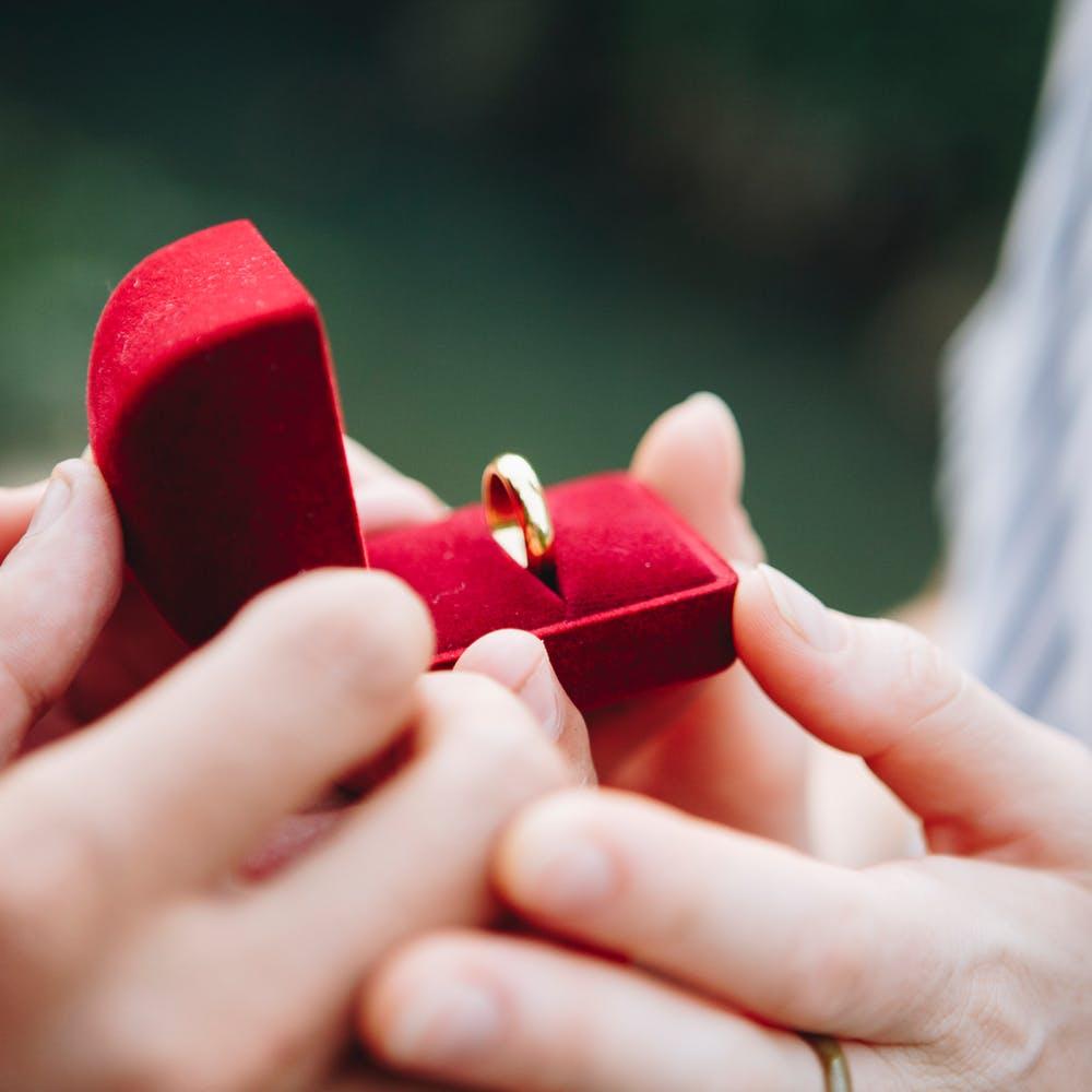 صورة لخاتم زواج