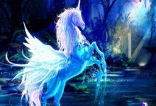 حصان سحري مجنح