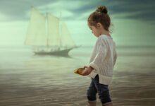 طفلة جميلة
