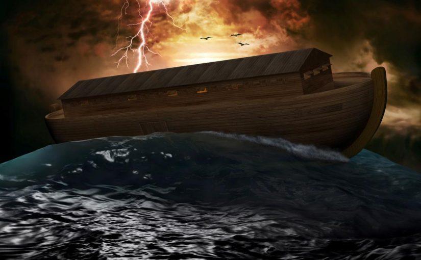 عاصفة وسفينة