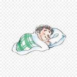 رجل نائم