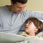 حب قراءة الآباء لصغارهم