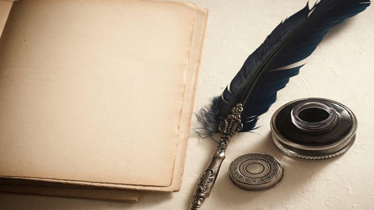 صورة عن أدوات الكتابة قديما